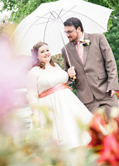 Helena and Ted's 1950s imspired wedding