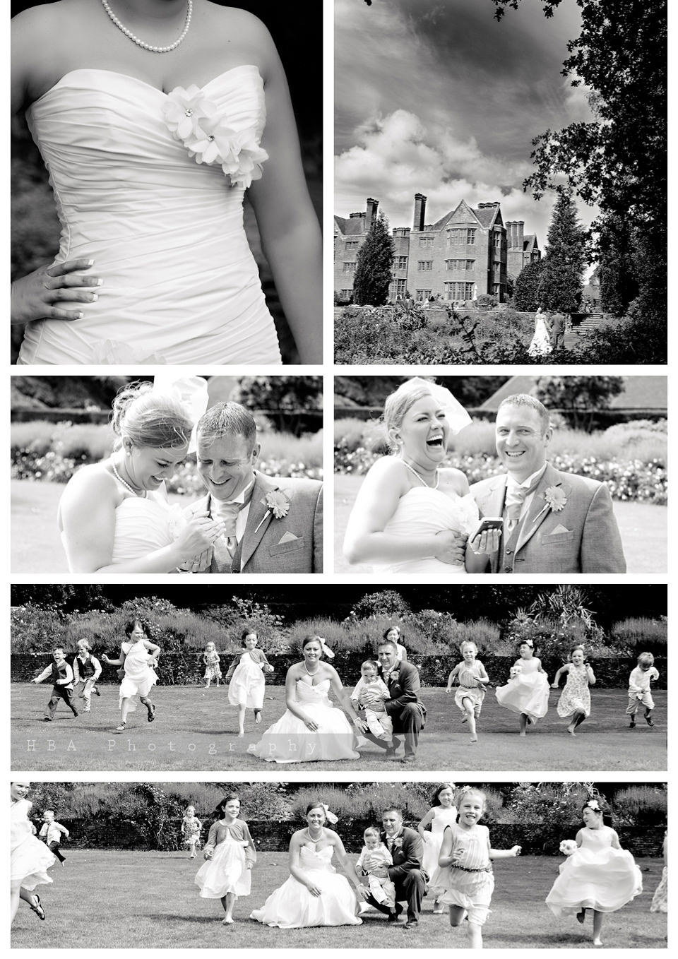 The wedding of Sam & Alan at New Place, Southampton. By contemporary photographers HBA Photography. Photos of the couple in the grounds of New Place