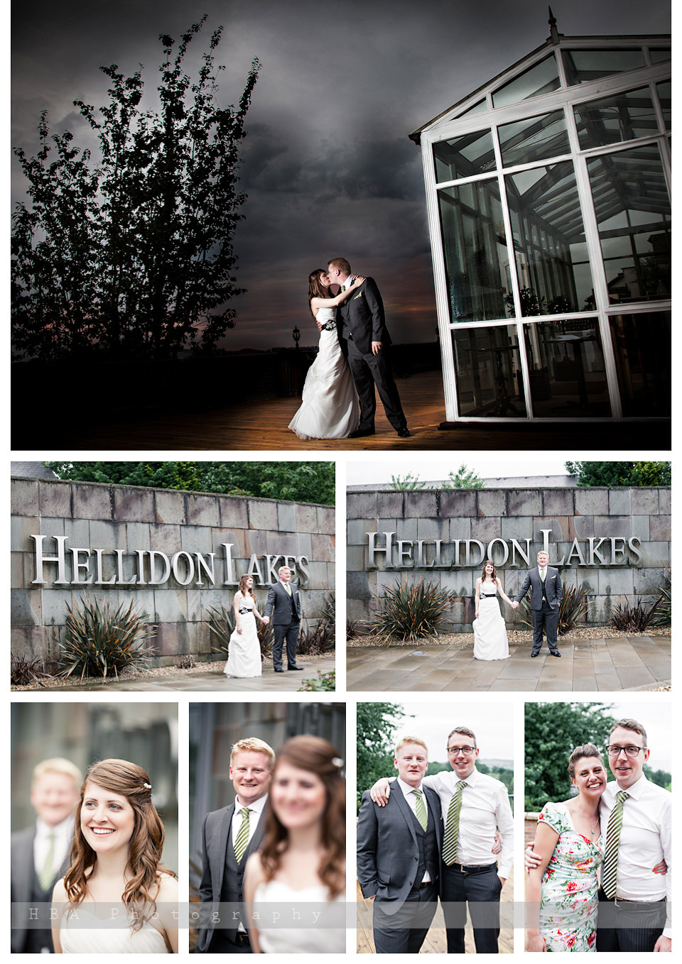 The wedding of Josey & Sam at Hellidon Lakes Golf & Spa Hotel, by contemporary Derbyshire photographers HBA Photography. Some photos after dinner
