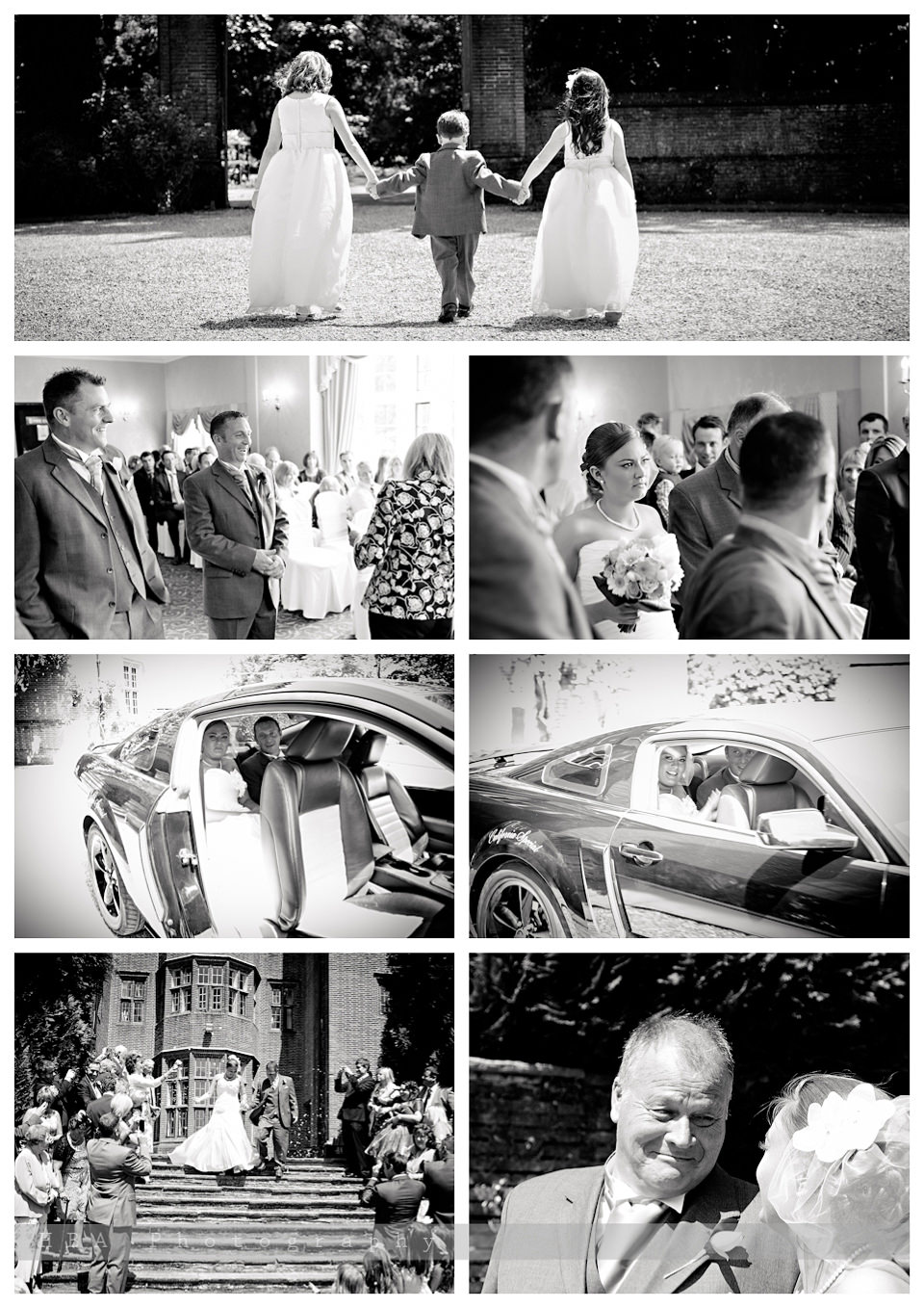 The wedding of Sam & Alan at New Place, Southampton. By contemporary photographers HBA Photography. The ceremony