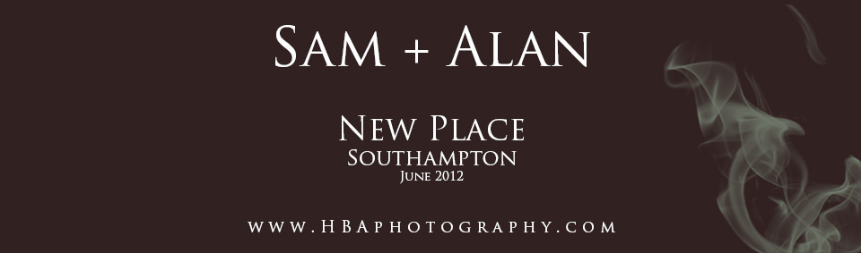 The wedding of Alan & Sam at New Place, Southampton. By contemporary photographers HBA Photography