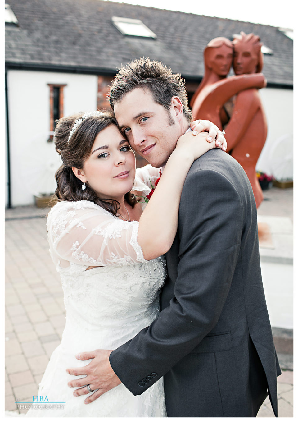 Mark & Sandie's wedding at Comlongon Castle and The Smiths Hotel, Gretna Green. By contemporary photographers HBA Photography