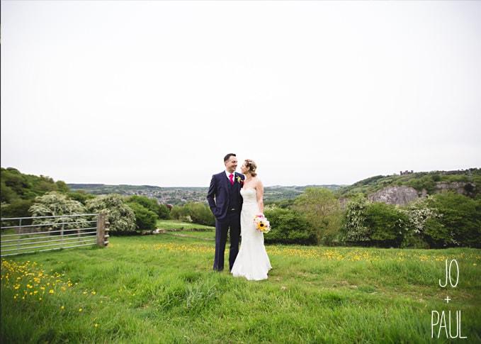 Joanne and paul wedding