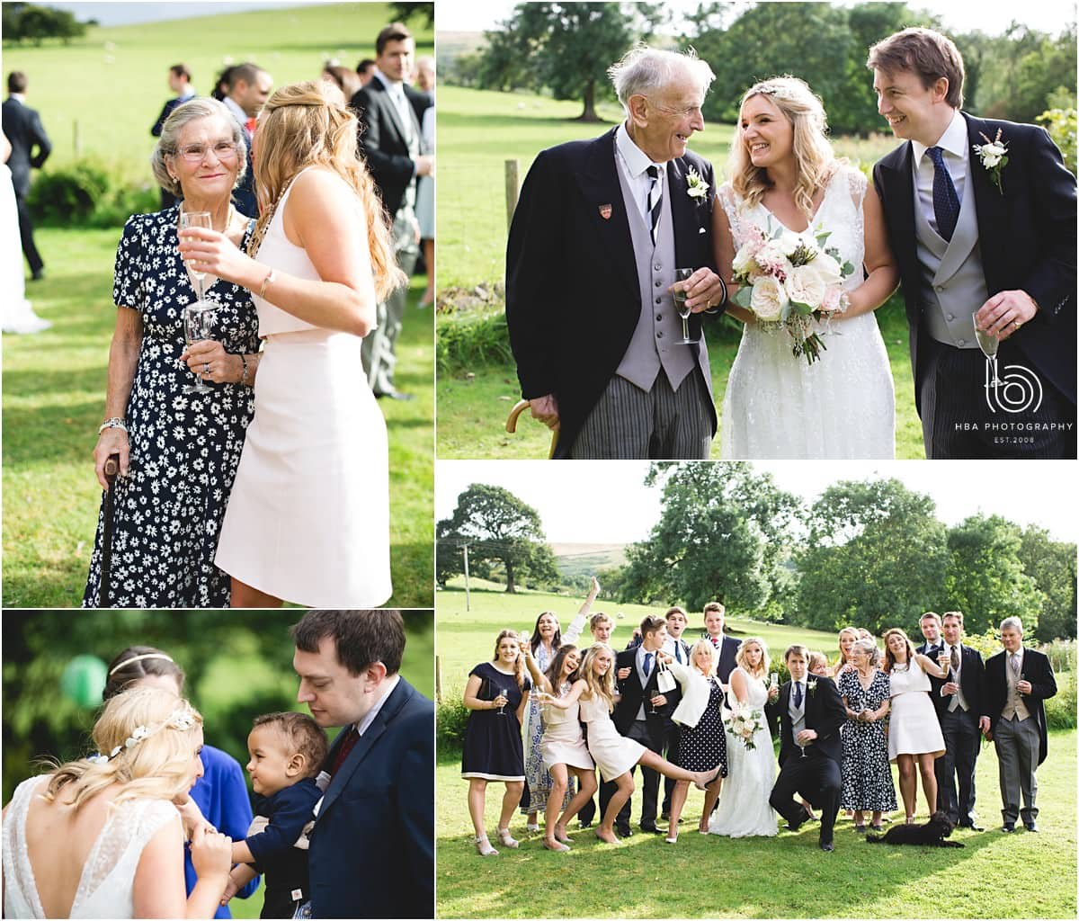 family photos at the derbyshire wedding