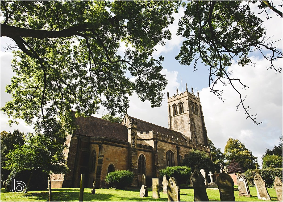 a photo of the church in Horsley