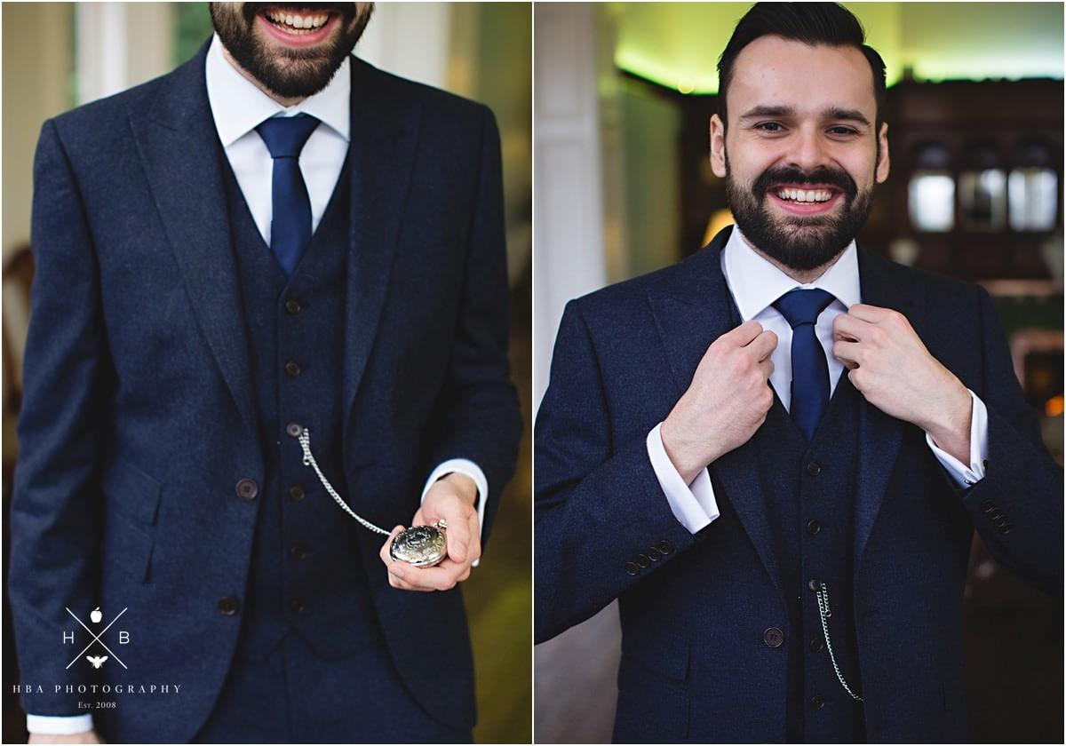 how to wear pocket watch with suit