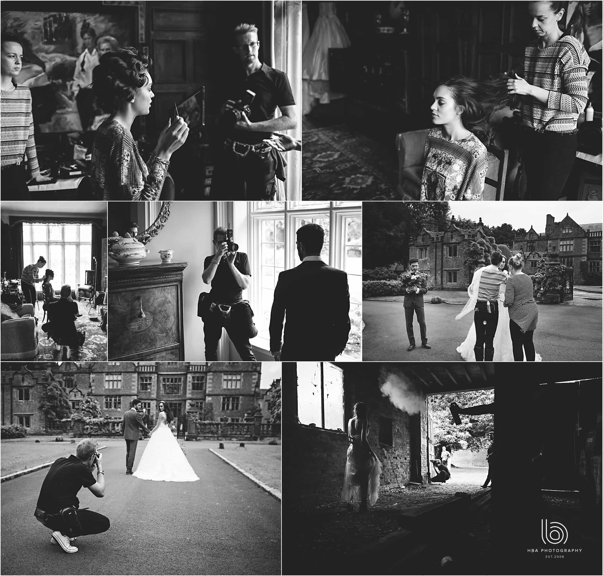 Behind the scenes details frm our wedding photos at Dorfold Hall