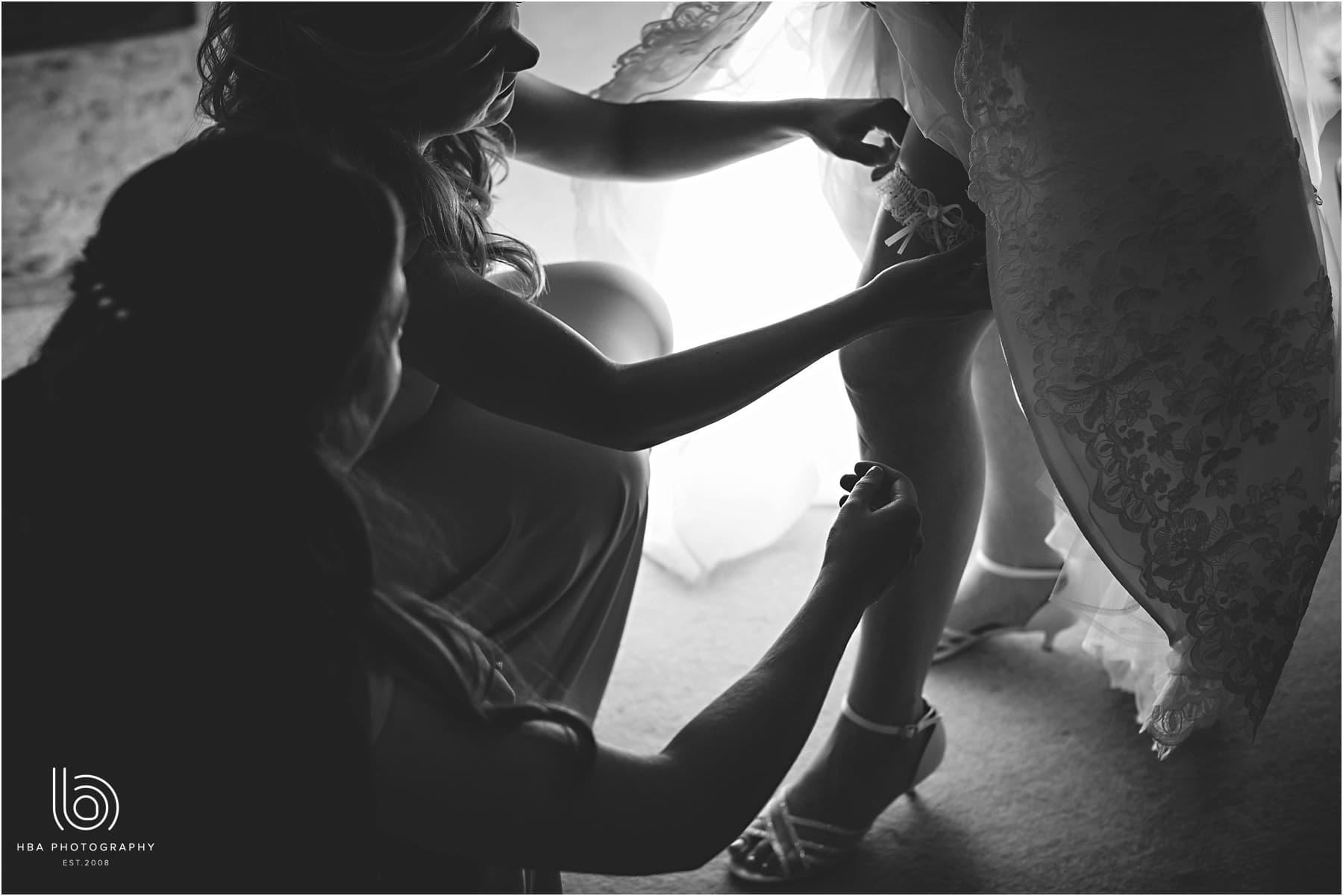 the brides garter