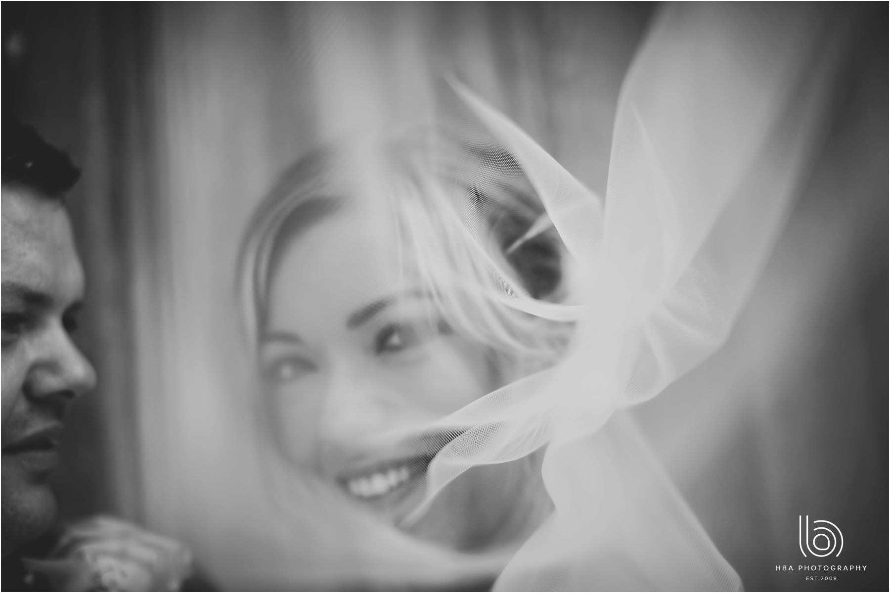 the bride under her veil