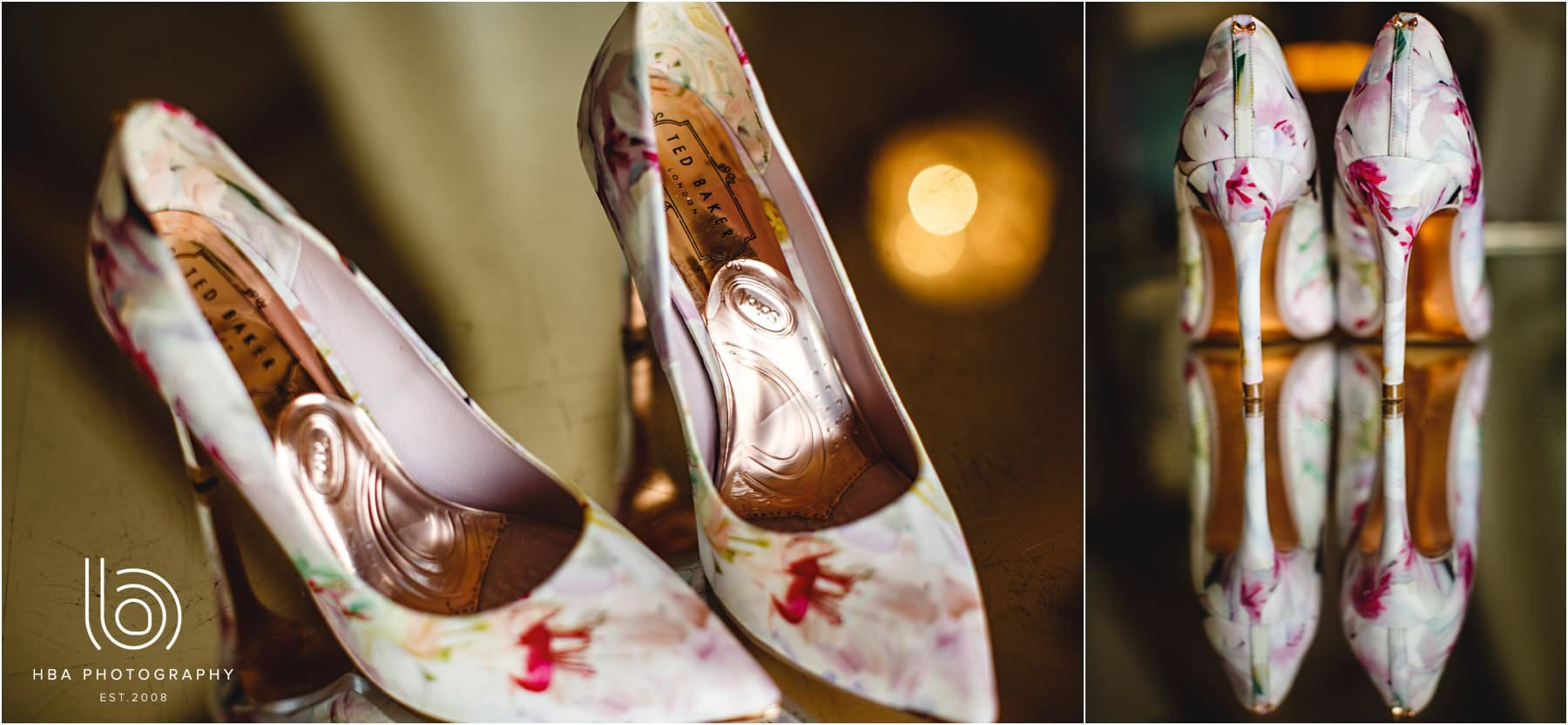 bridal shoes from Ted Baker