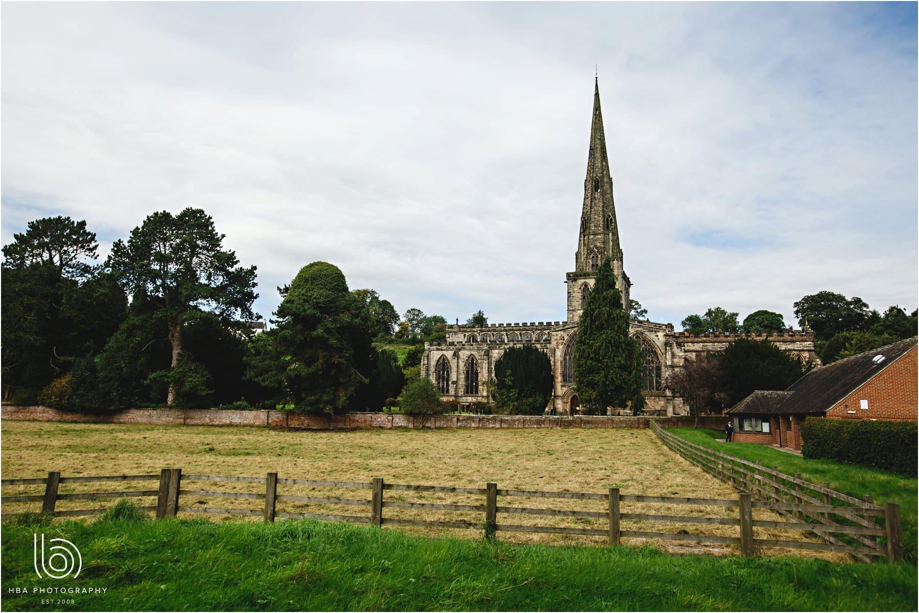 st oswalds church in ashbourne