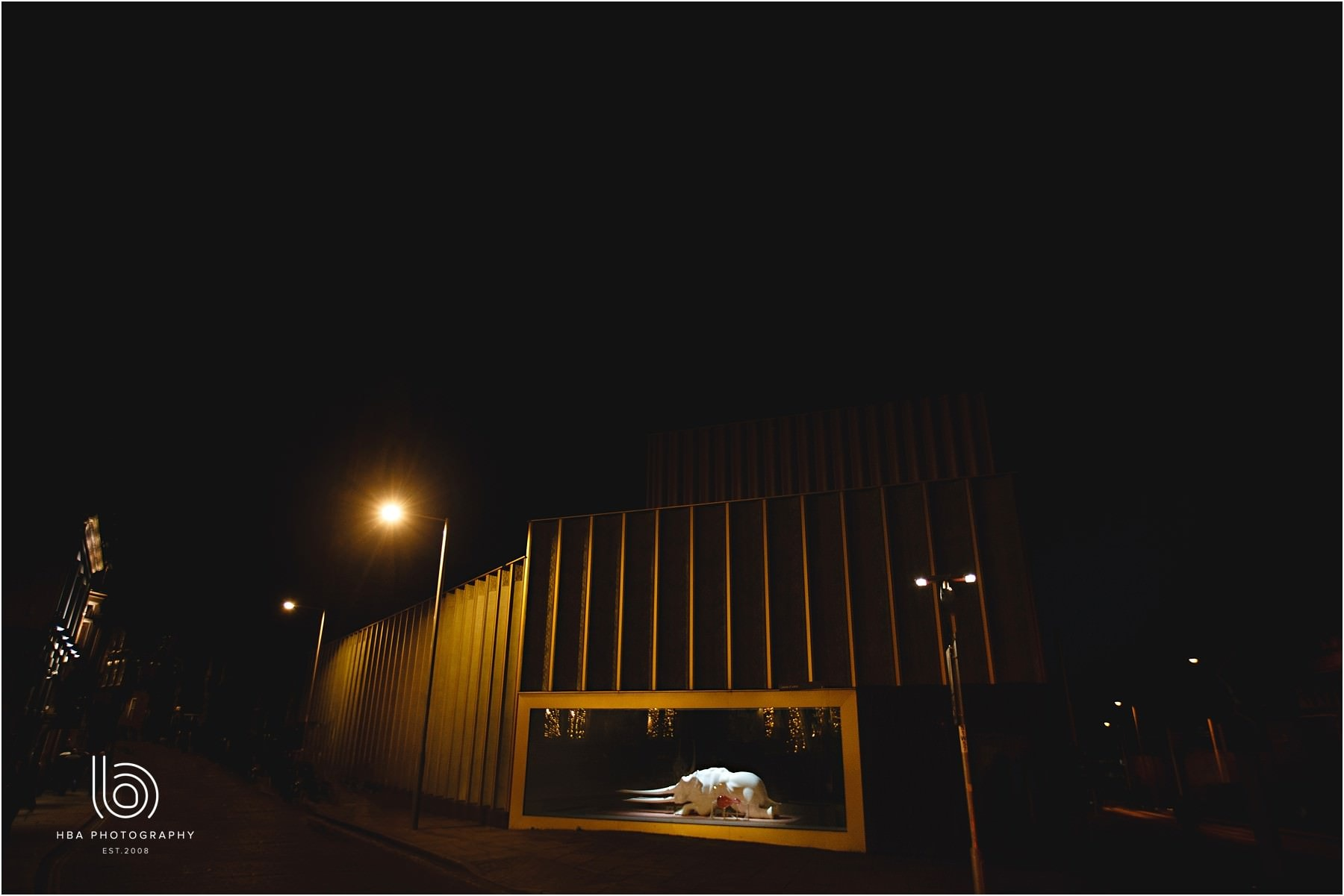 The Nottingham contemporary at night