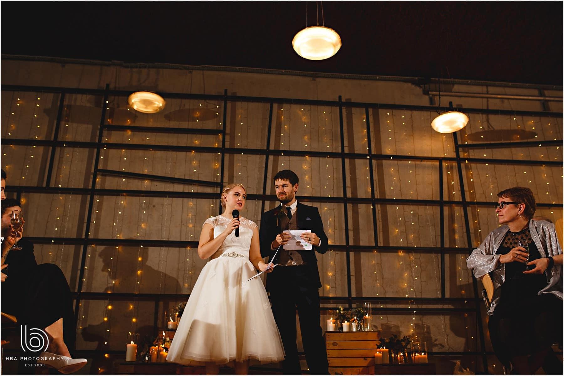 The bride speech
