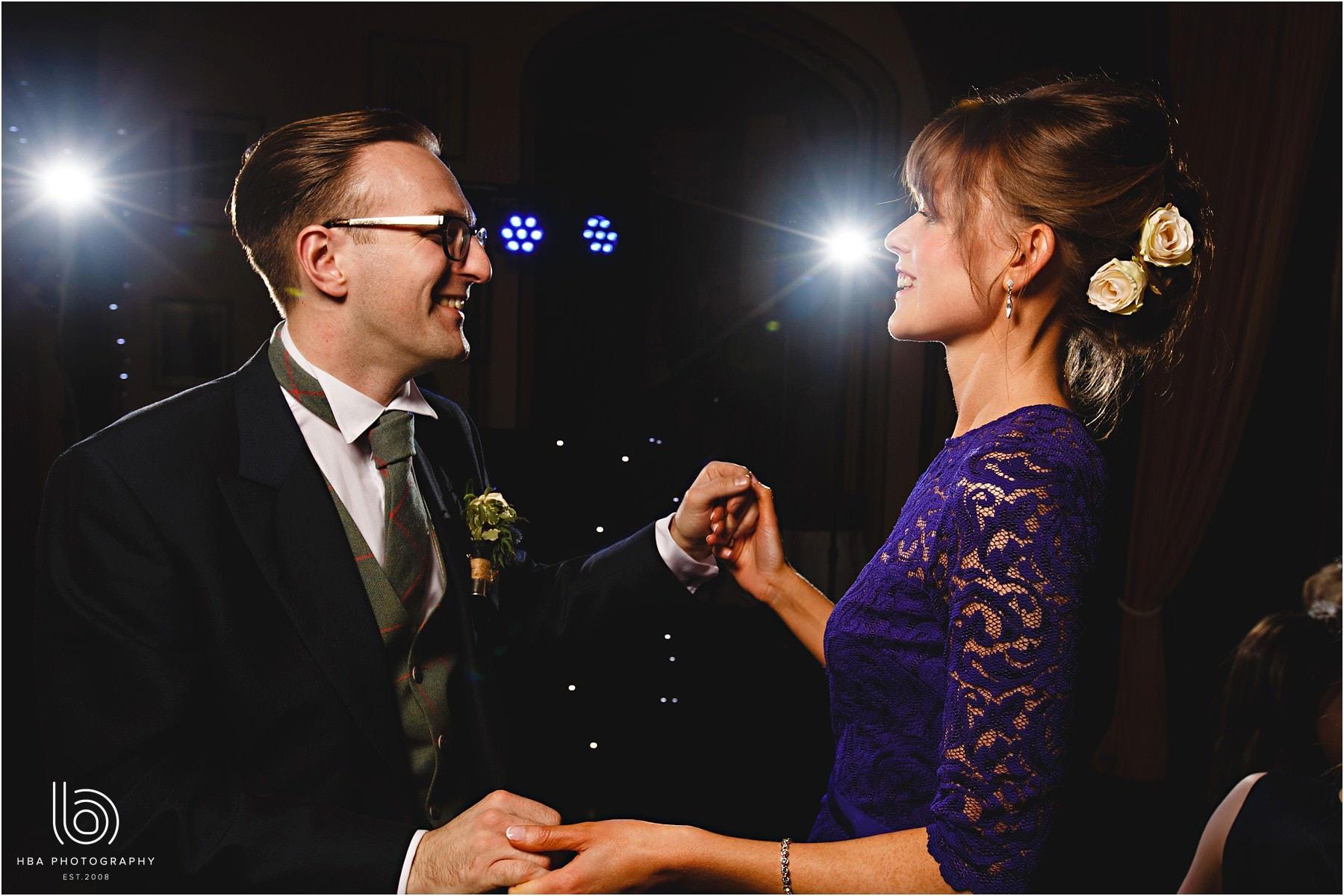 Wedding couples on the dancefloor