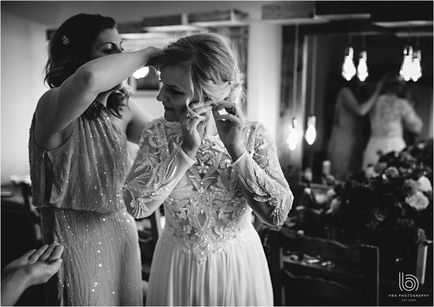 the bridal preparations