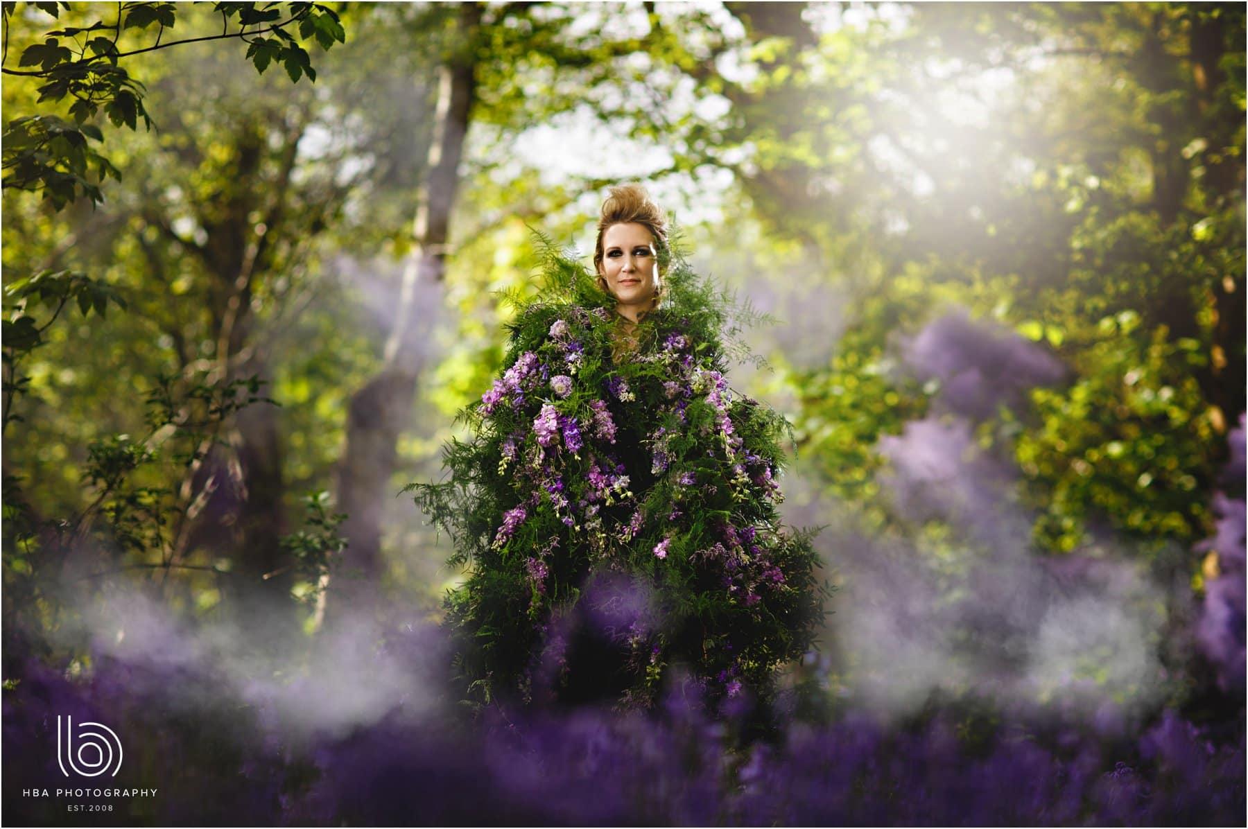 Conceptual woodland shoot