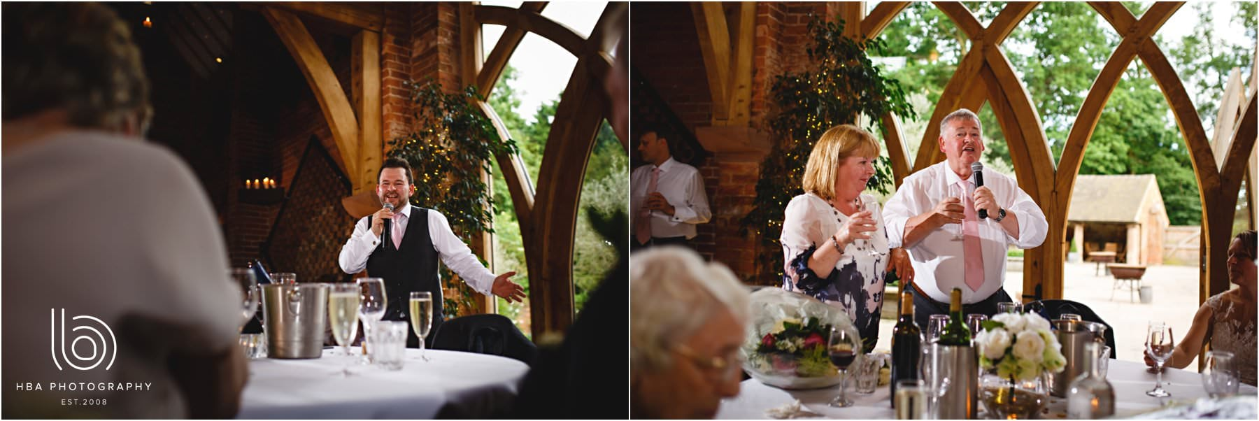 he wedding speeches