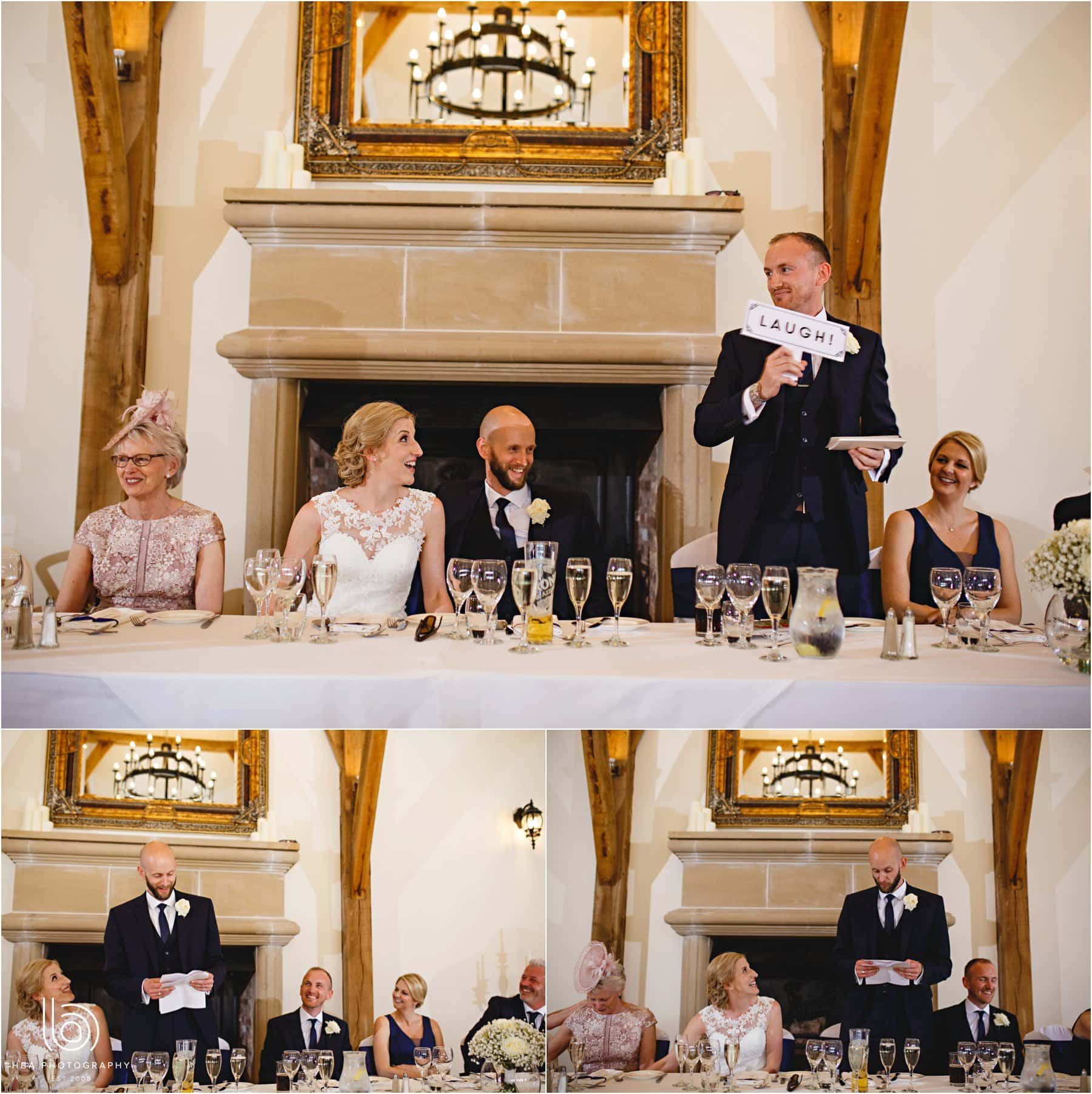 the weddinf speeches