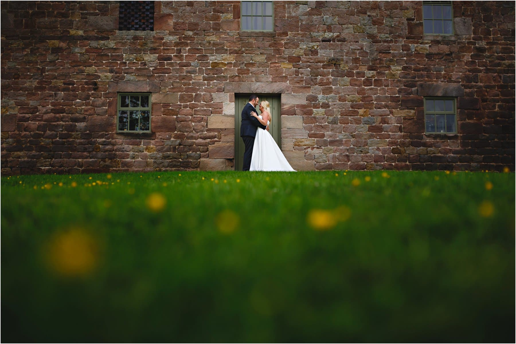 Wedding photography at The Ashes, near Leek