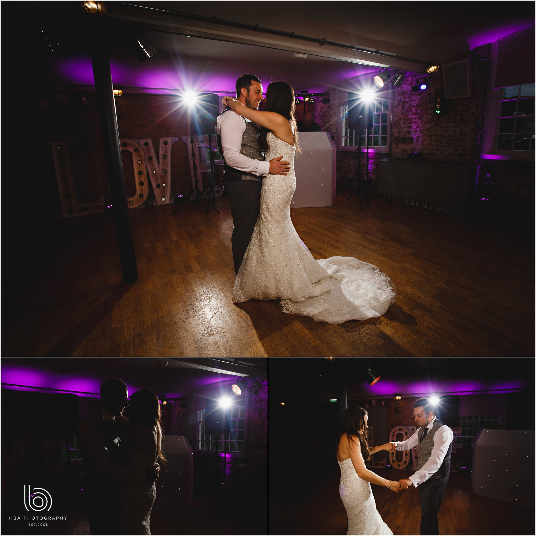 the bride & groom's first dance