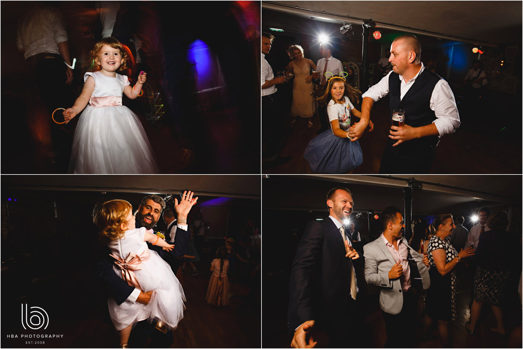 guests dancing at the west mill