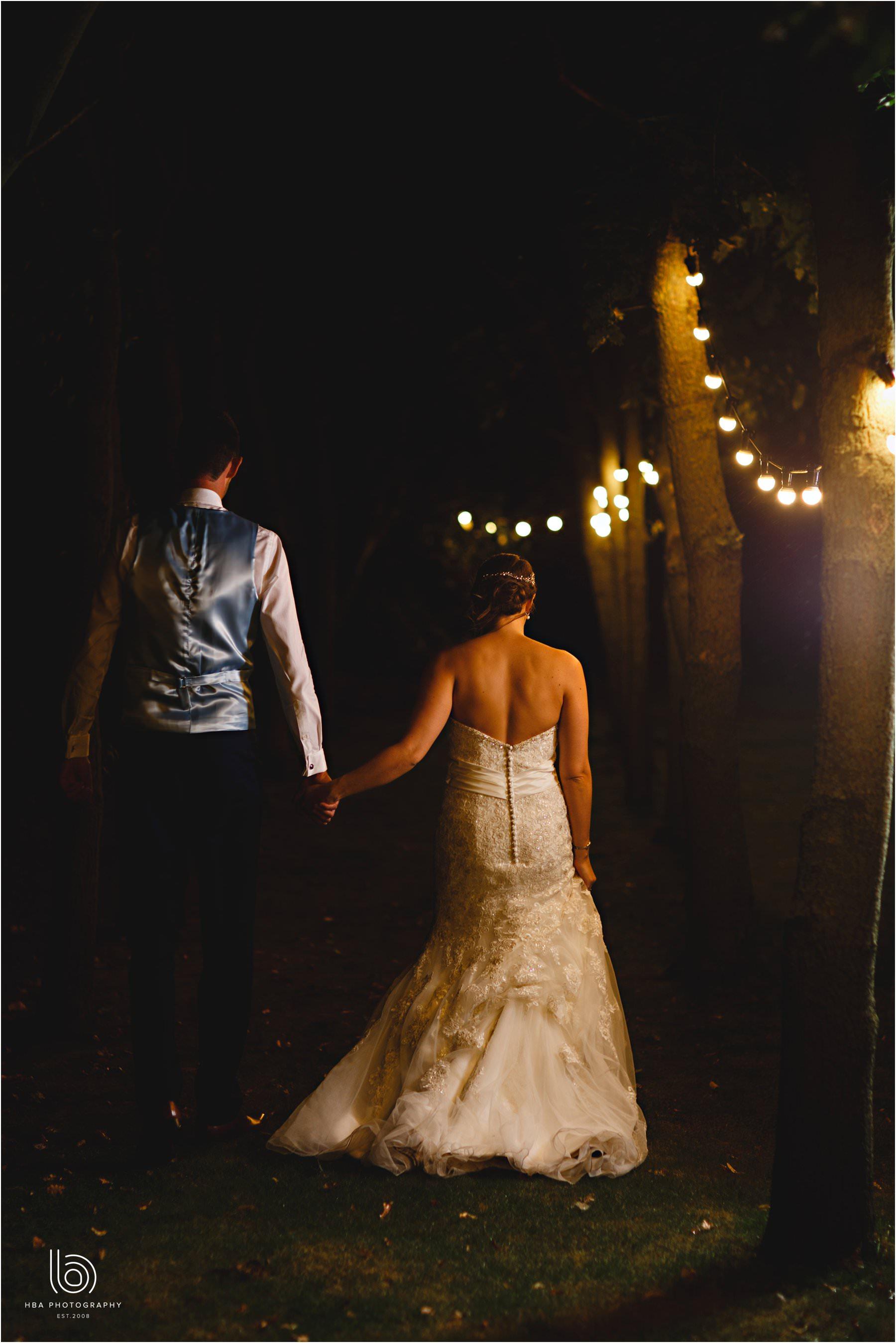the bride & groom t night