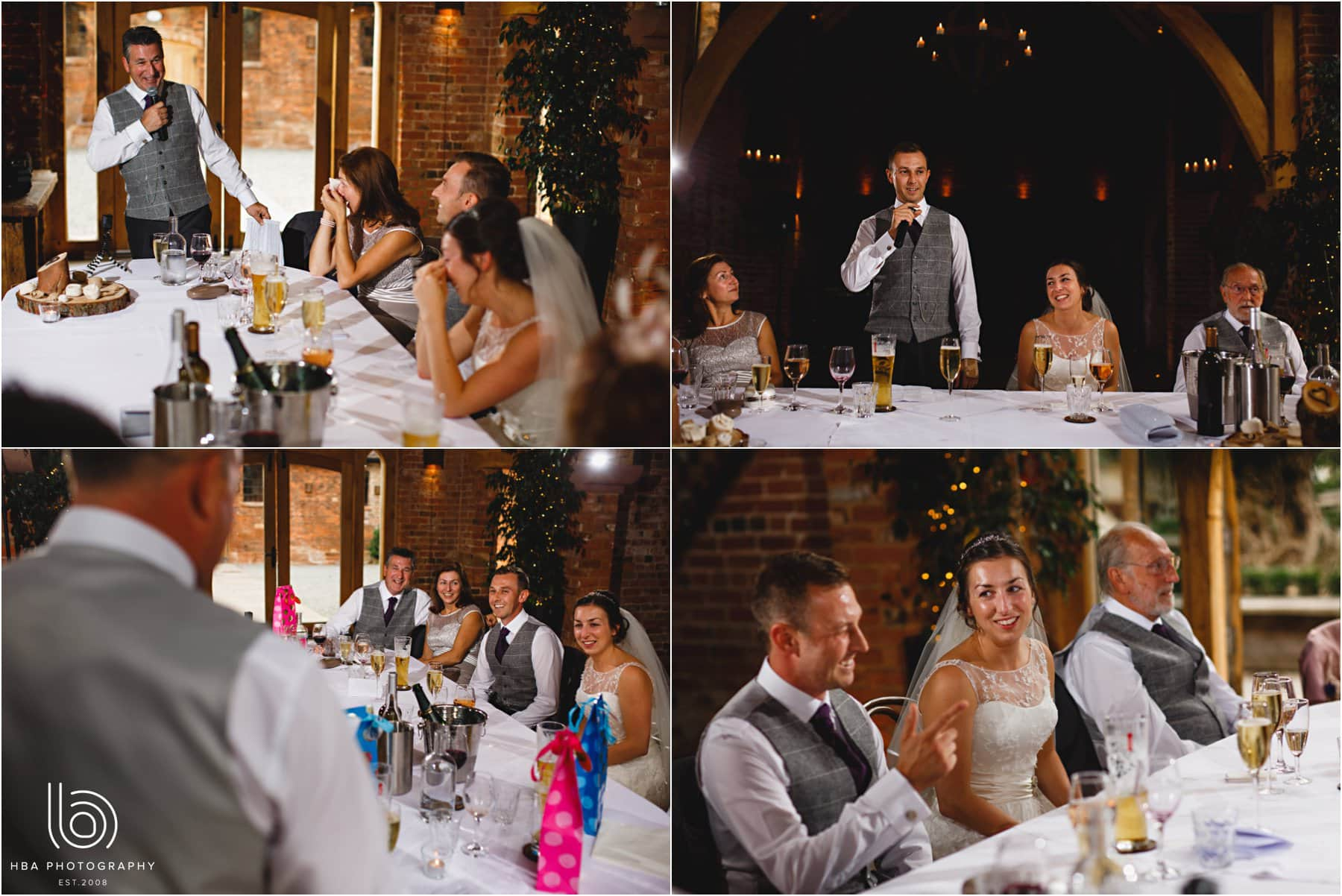 the wedding speeches