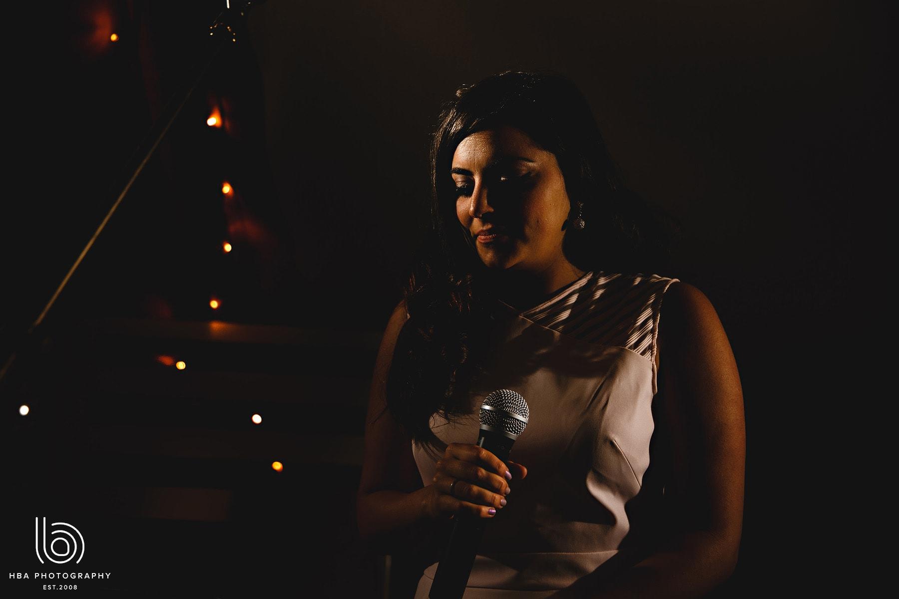 a wedding singer