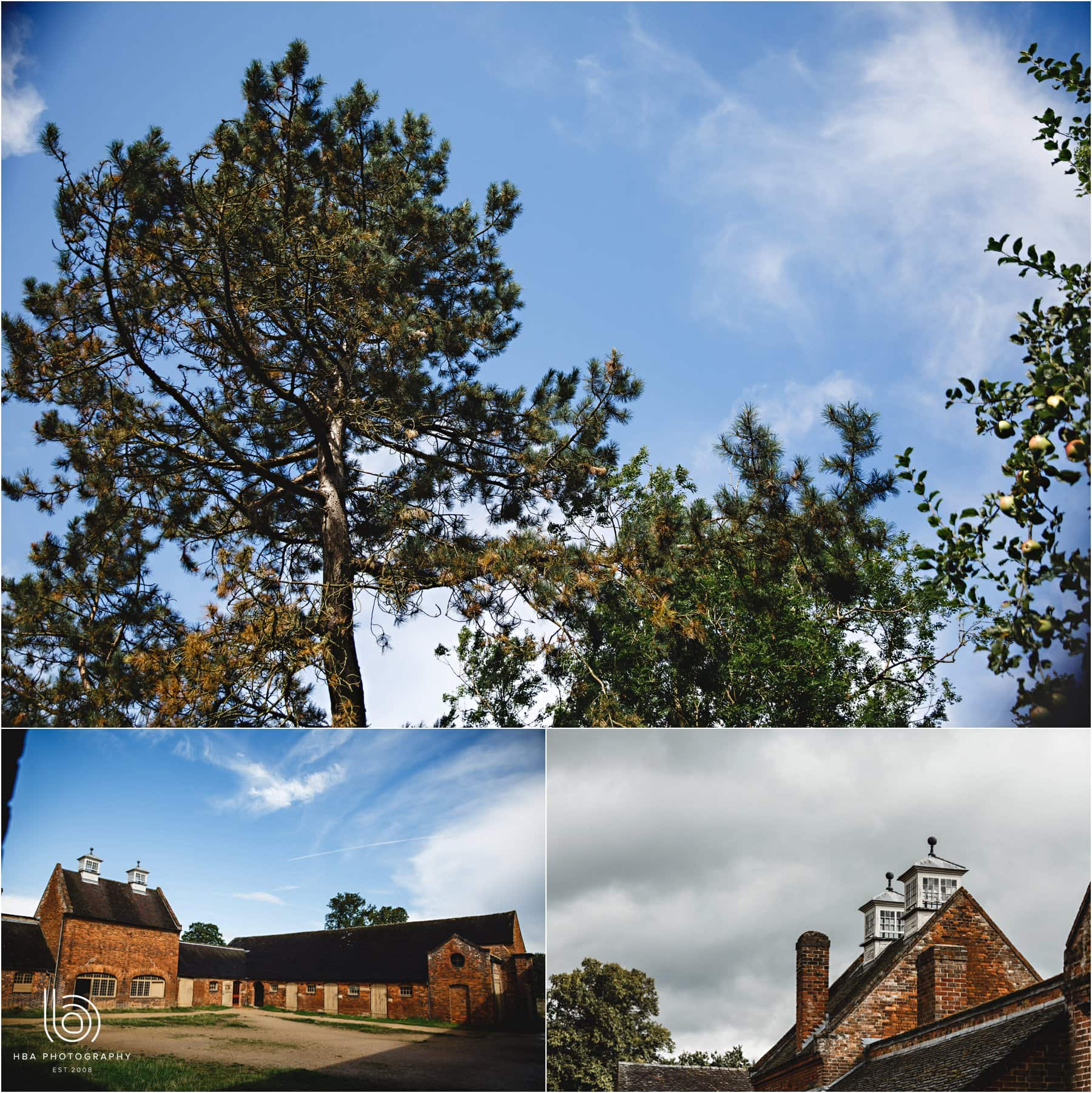 the buildings at Calke ABbey