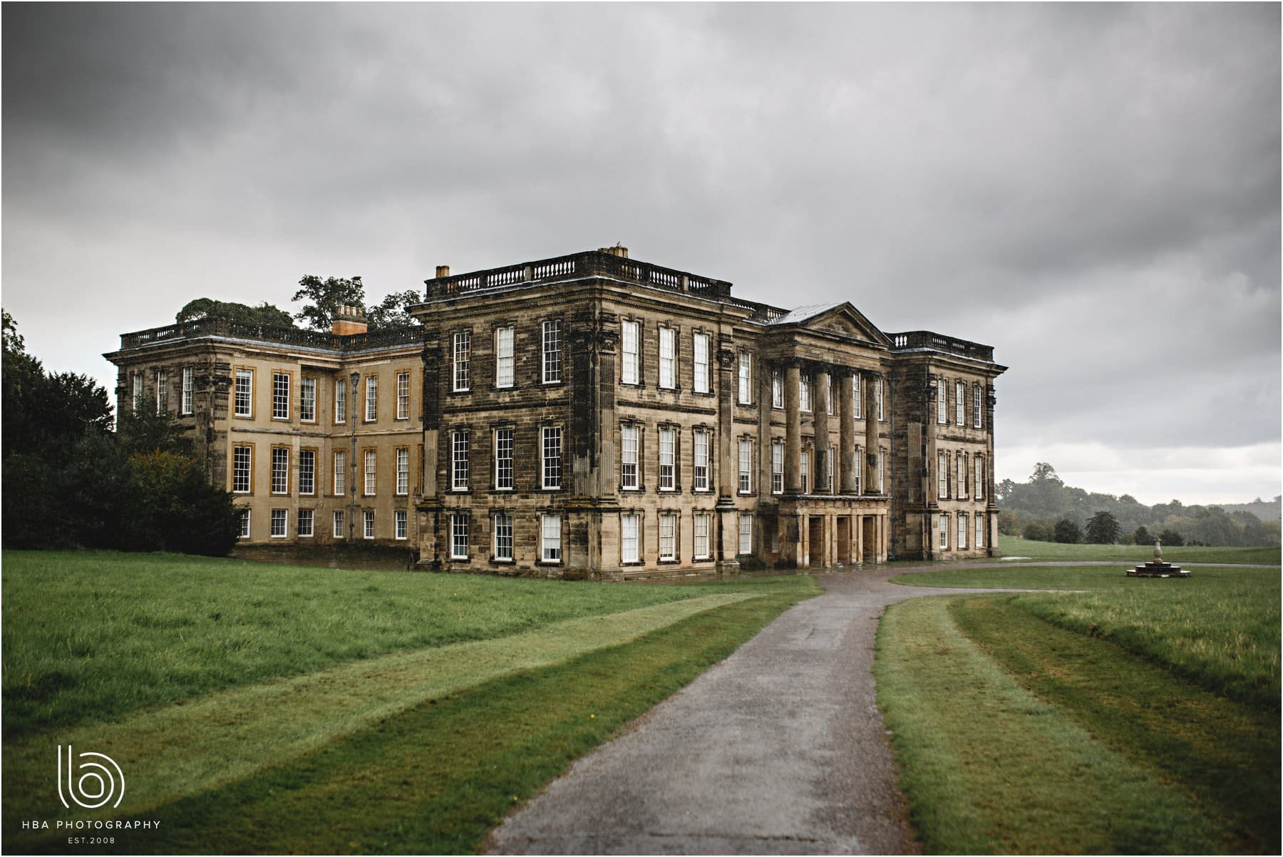 The house of Calke ABbey