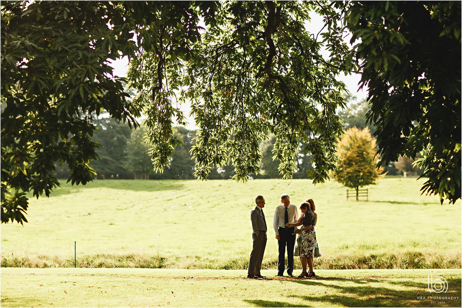guests enjoying the grounds