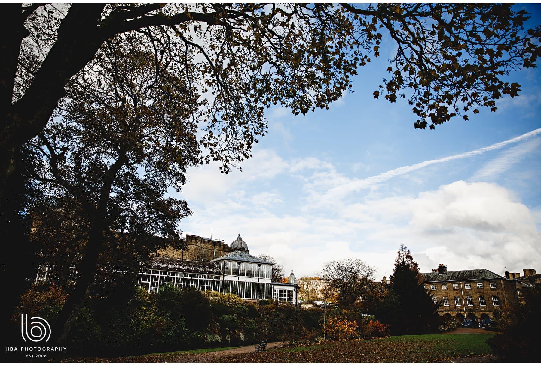 the pavillion gardens in autumn