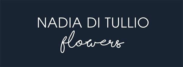 wedding florist logo