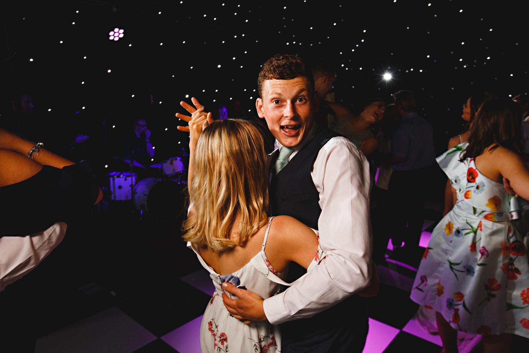 dance floor party