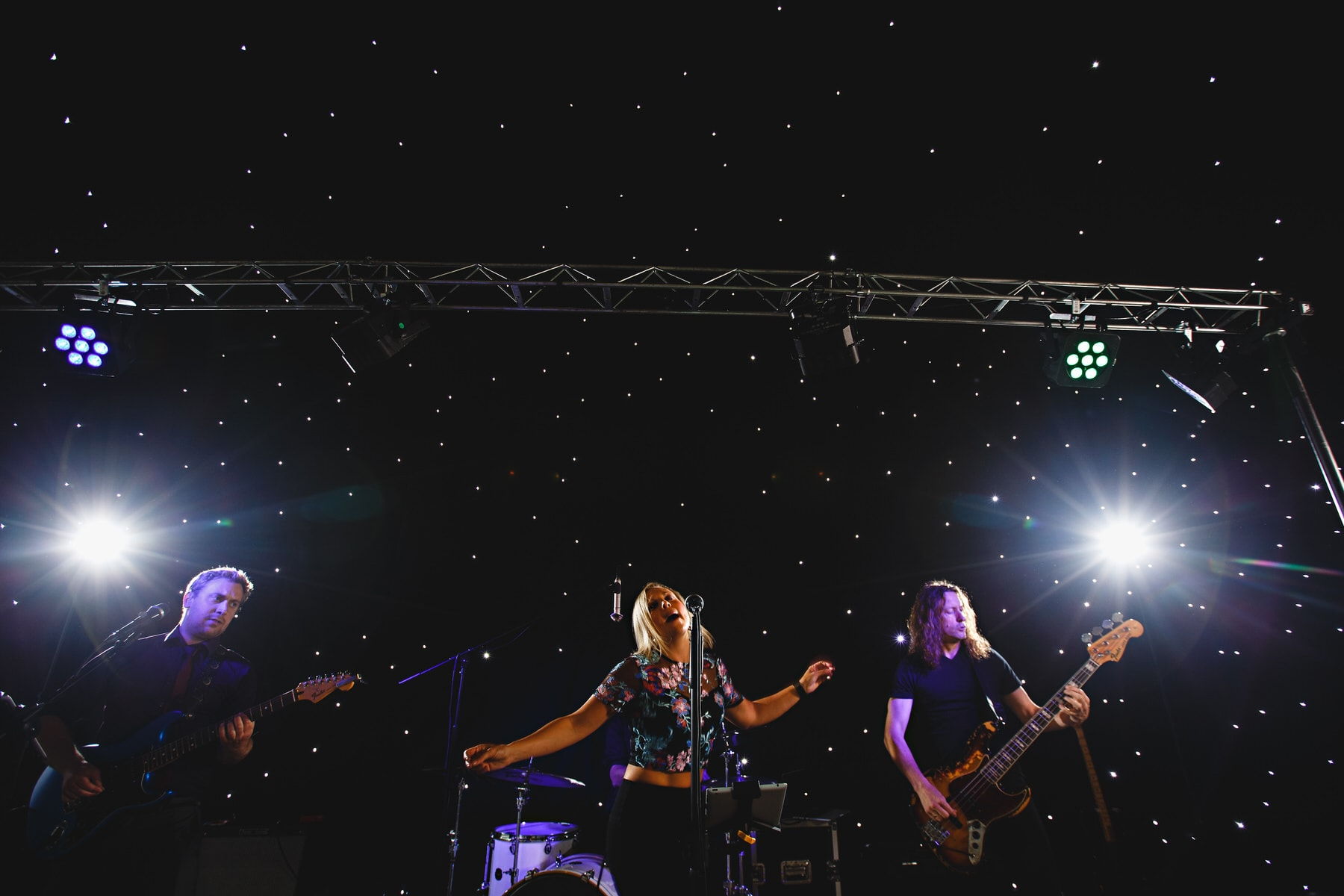 the bands at Osmaston Park in Derbyshire
