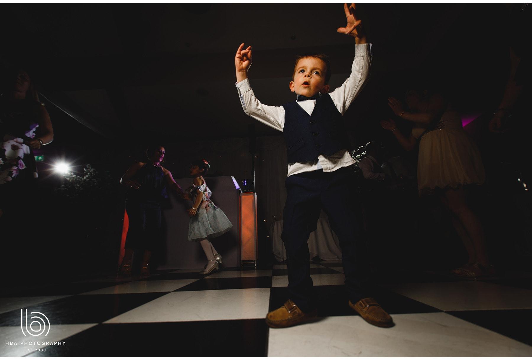kids on the dancefloor