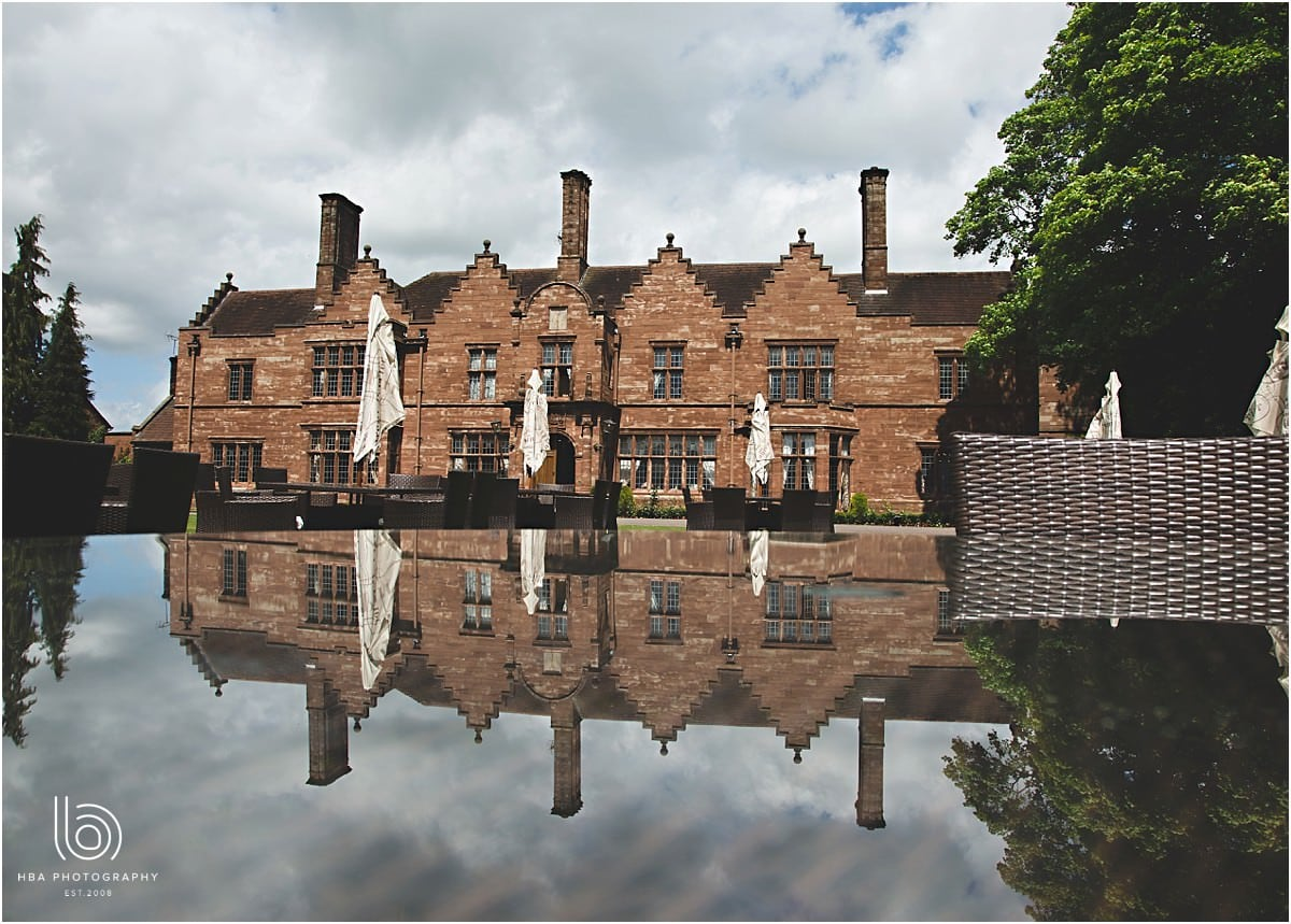 a photo of Wrenbury Hall from the outside