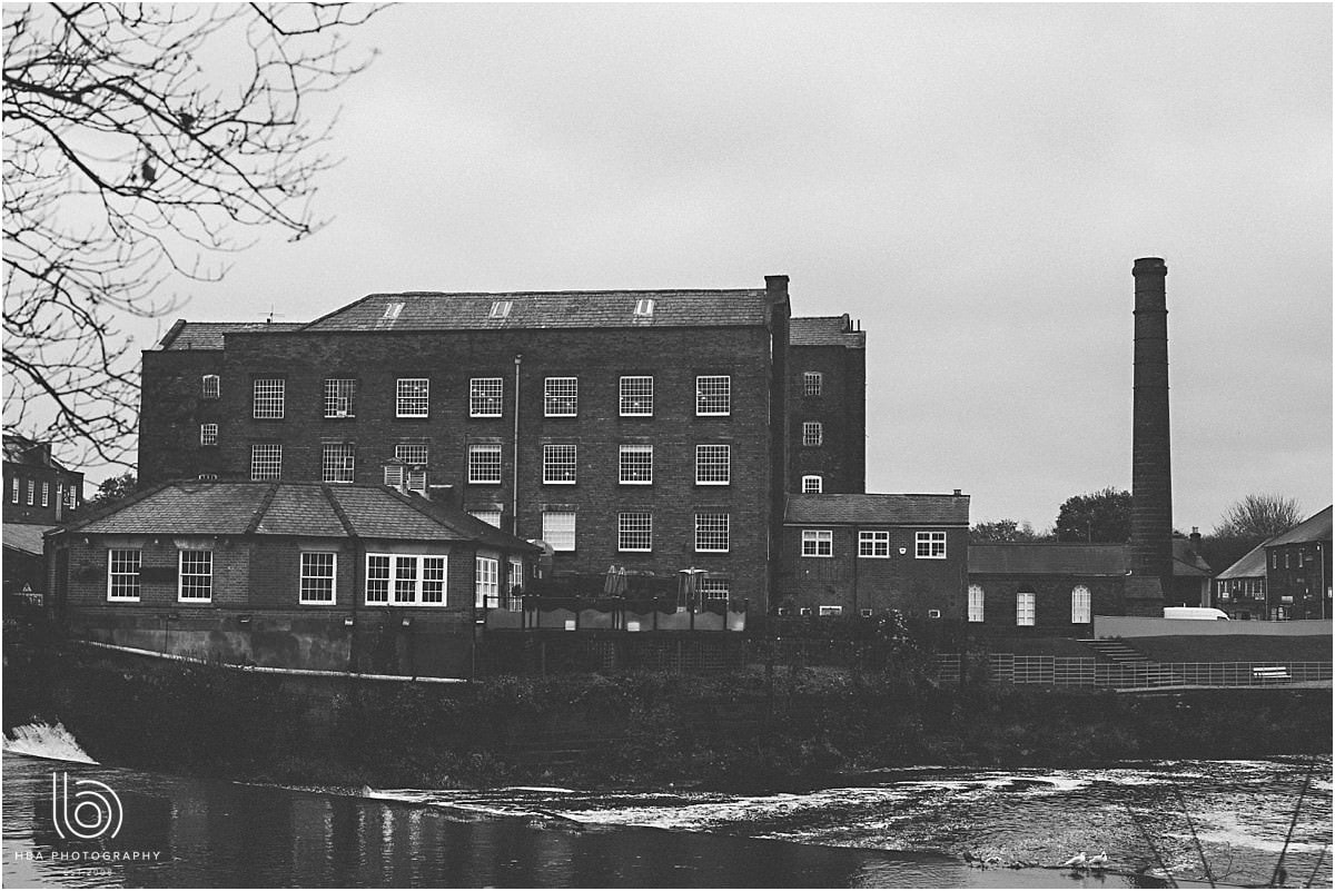 An image of the west mill from the outside