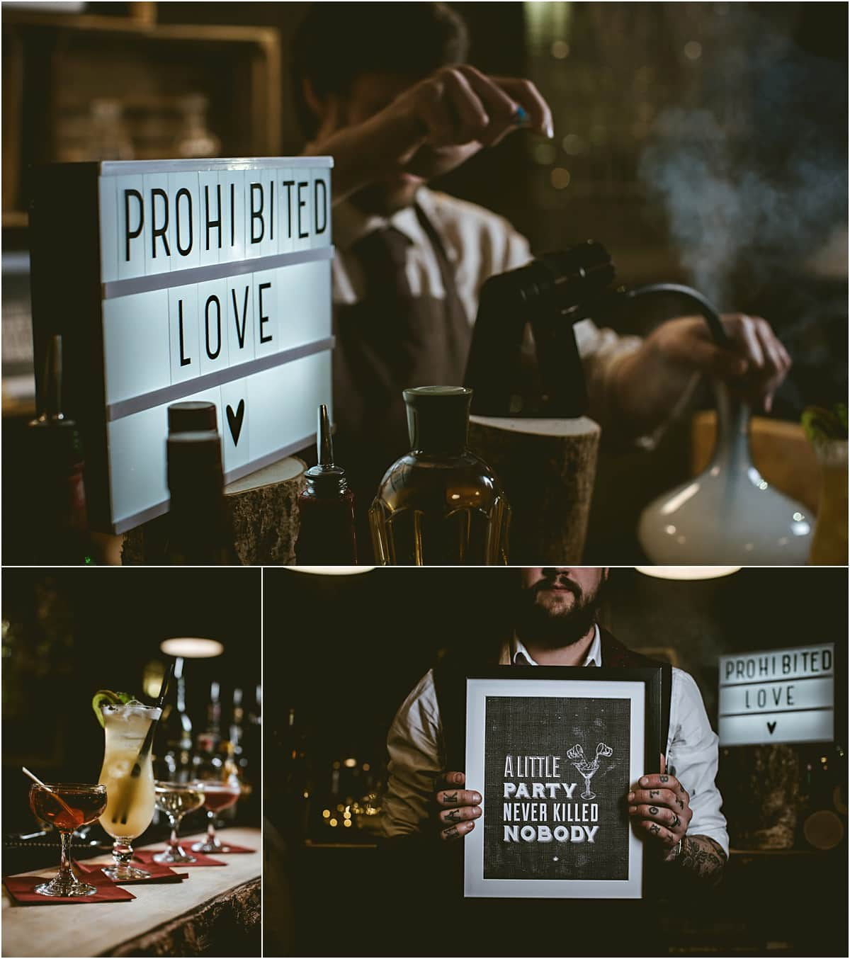 prohibited love wedding details