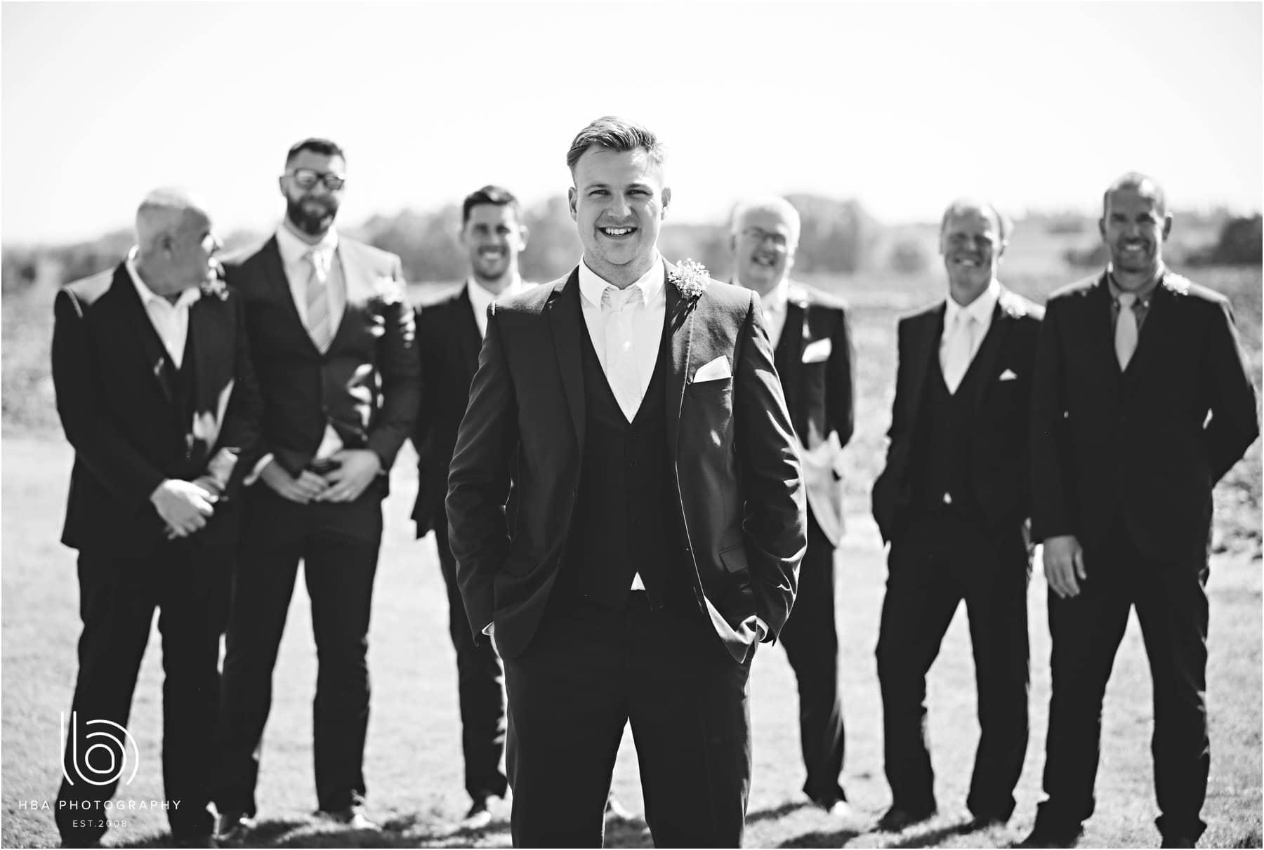 the groom & grromsmen