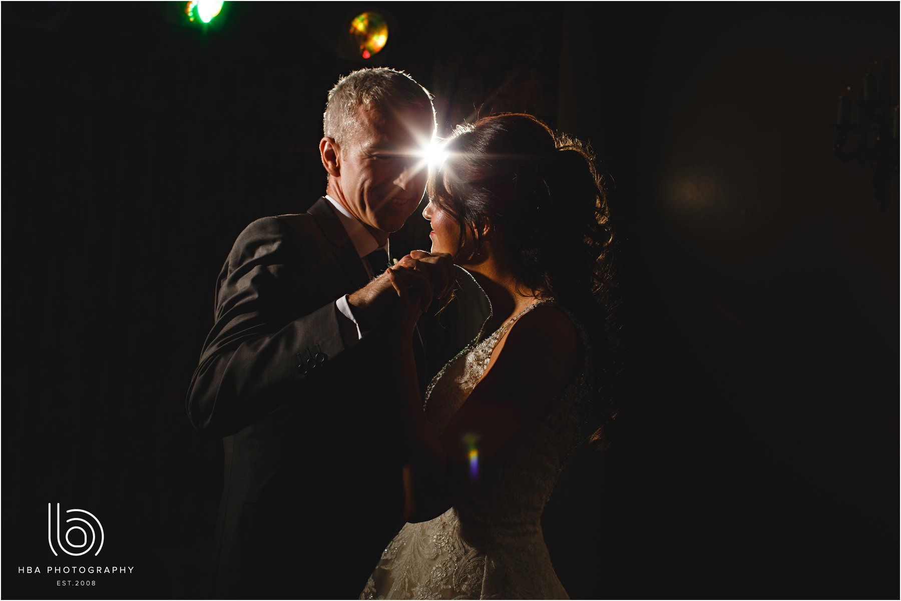 the bride & groom first dance