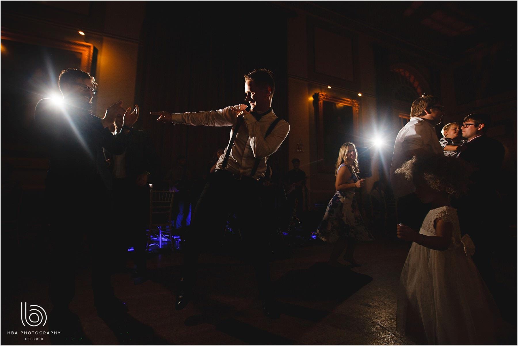 dancing on the wedding night