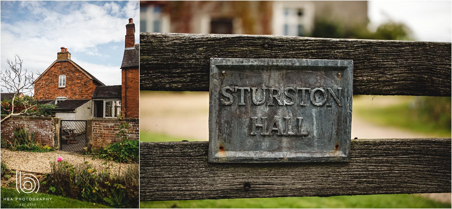 Sturston Hall bridal preparations