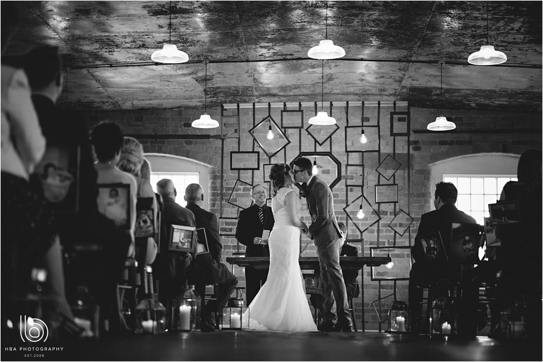 the ceremony at the west mill
