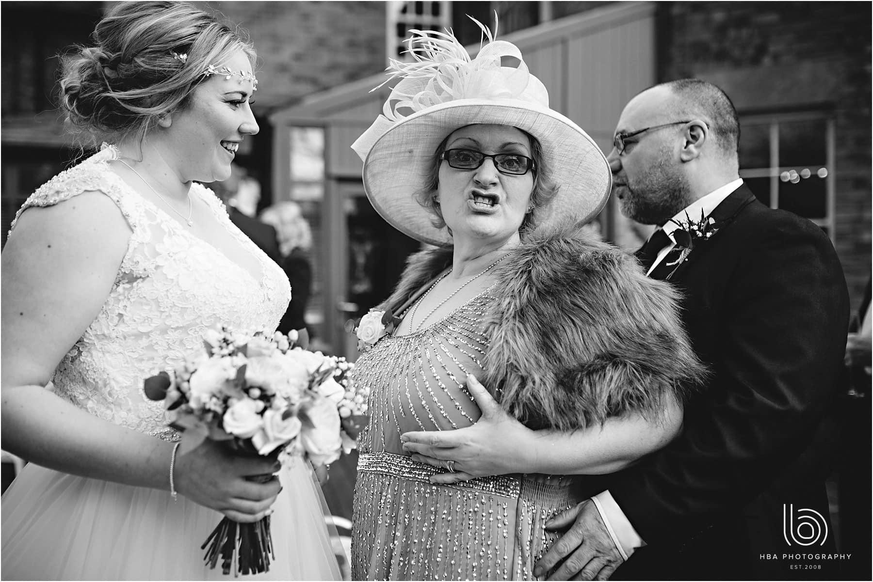 the bride's mum