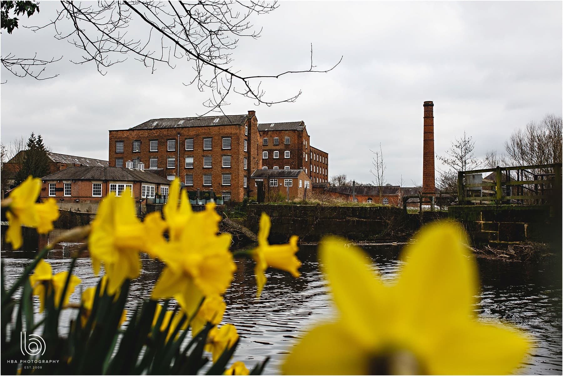 The West Mill in Spring