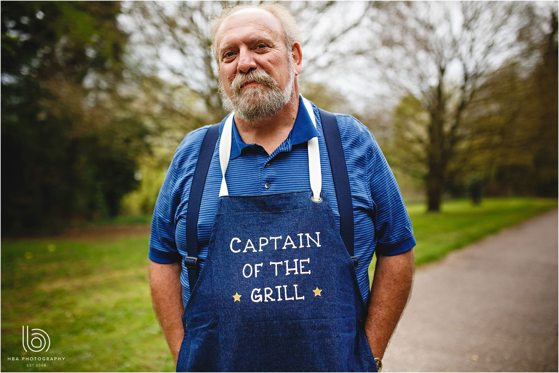 the bride's uncle and Captain of the Grill