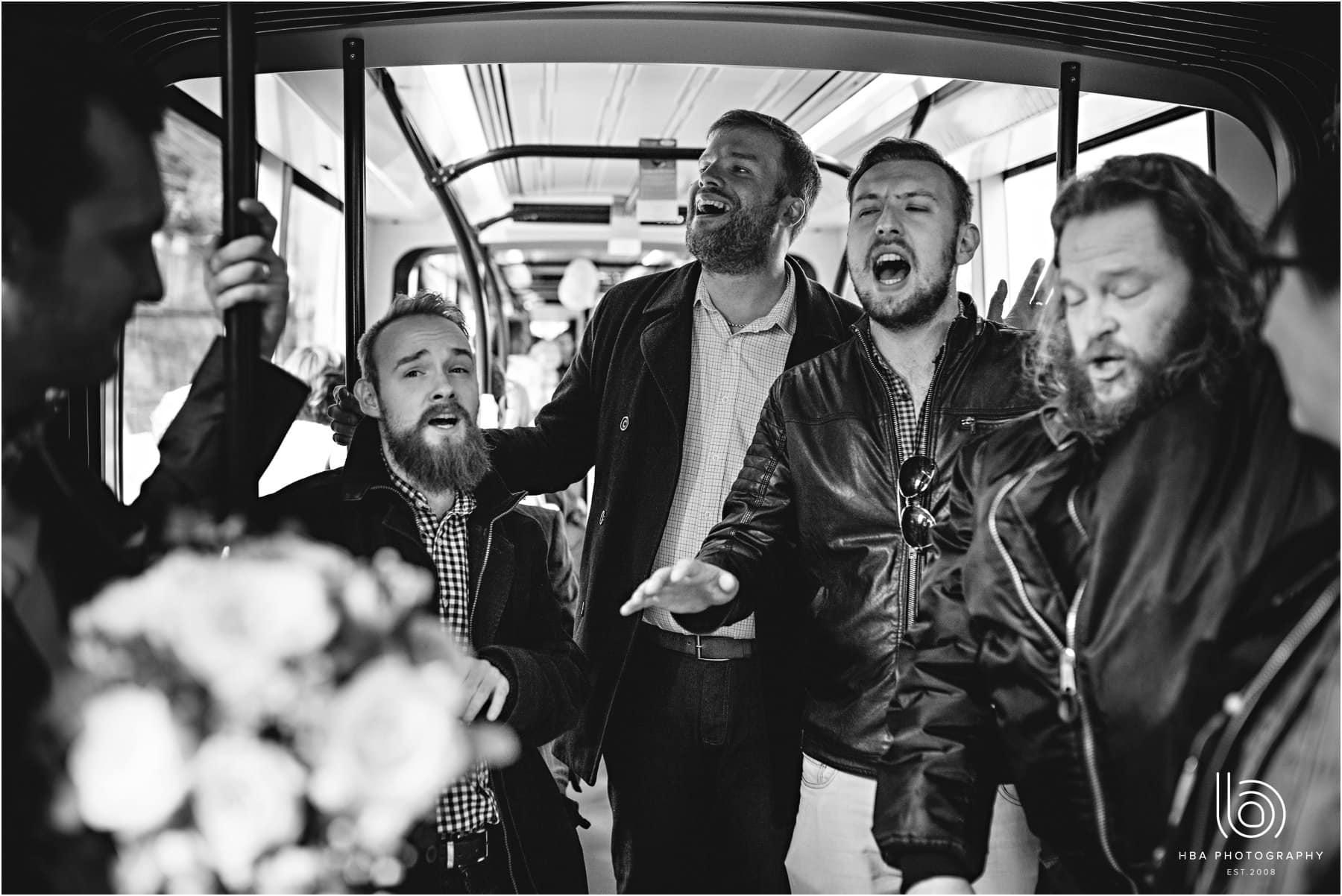 a wedding acapella group