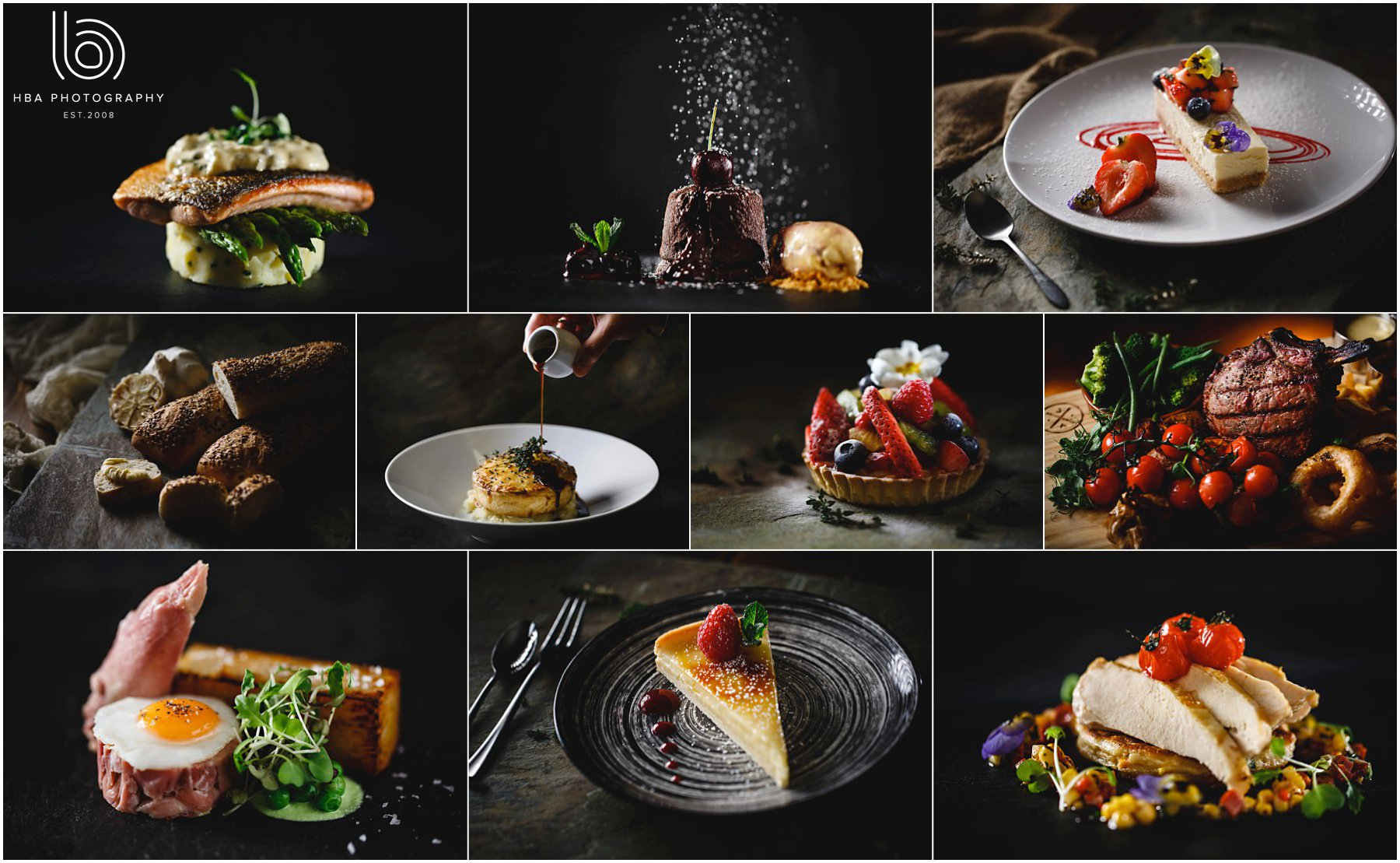 Derbyshire food photography