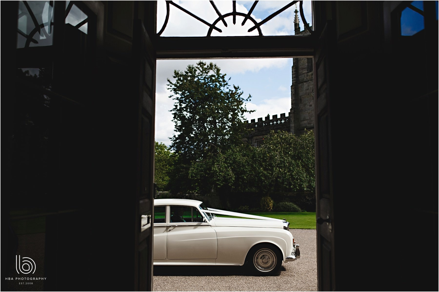 the car at Staunton Harold